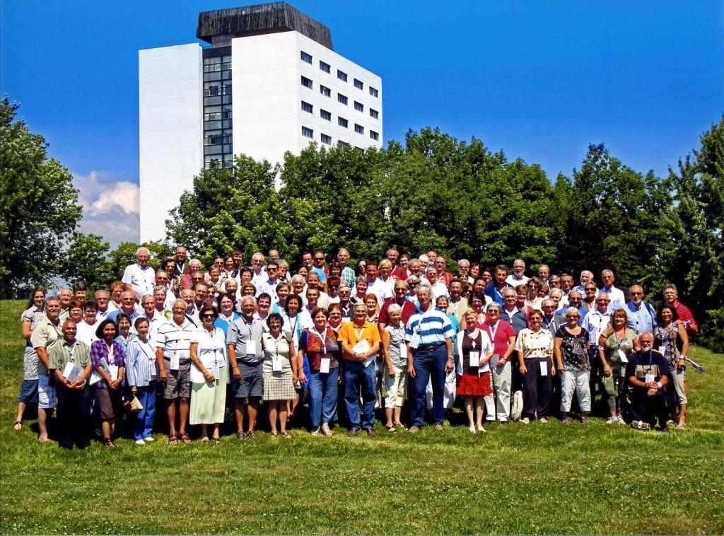 Foto dos Participantes nas jornadas FICPM 2012 no Quebeq