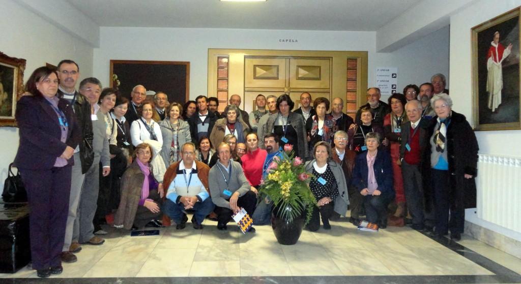 Participantes no Retiro Nacional CPM 2012